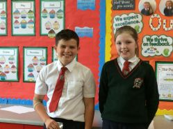 Head Boy and Head Girl for Term 3